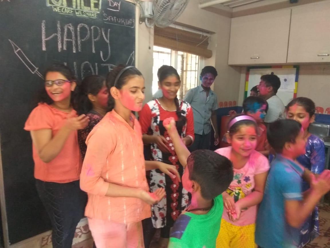 Holi Celebration Udaan