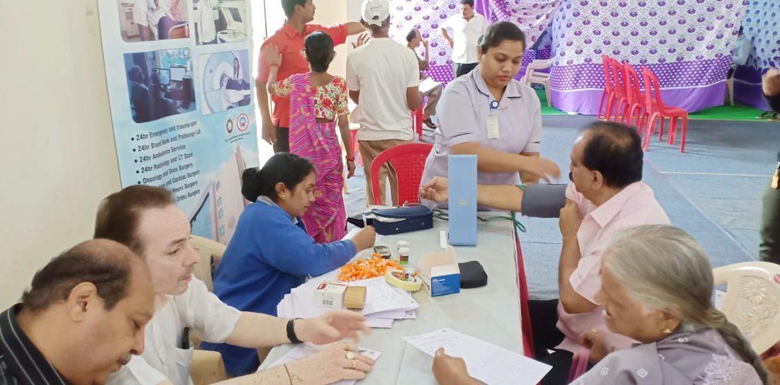 SMILE Sponsors Medical Camp in Ghatkopar