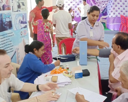 SMILE Sponsors Medical Camp in Ghatkopar