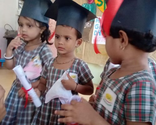 'Graduation Day' for Montessori Students