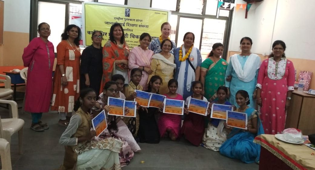 Children with Disabilities Complete Beautician's Course at Vikas Vidyalaya