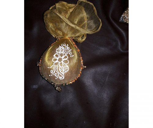 Decorated Coconut 1
